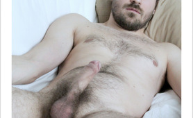Hairy gay erection