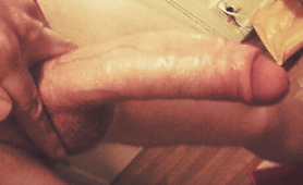 My Big White Uncut Cock