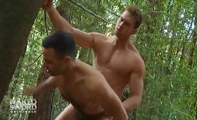 Hot forest gay sex in the woods with Connor Maguire