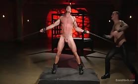 Hot stud Alex Mecum extreme torture