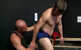 Male Stripper Audition Escalates To Anal Sex