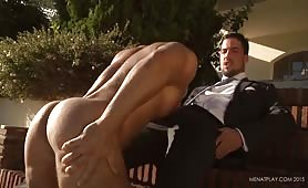 Italian Hunk Outdoor Sex With His Partner