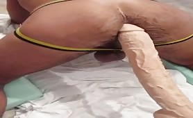 Dildo ass fuck