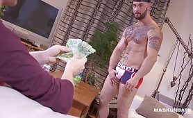 Hot Deepthroat Blowjob For Ripped Hunk