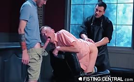 Bubble Butt Boys Fucked And Deeply Fisted By Daddy