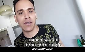 Broke Latino fucked raw for a few bucks-LECHELATINO.COM