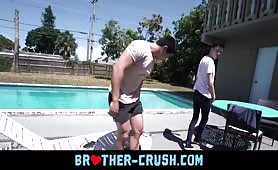 Teenager boys threesome in the sun BROTHER-CRUSH.COM