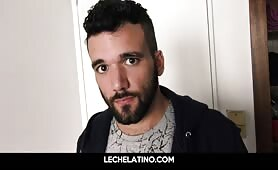 Latin Guy from street recruited for POV blowjob and anal LECHELATINO.COM