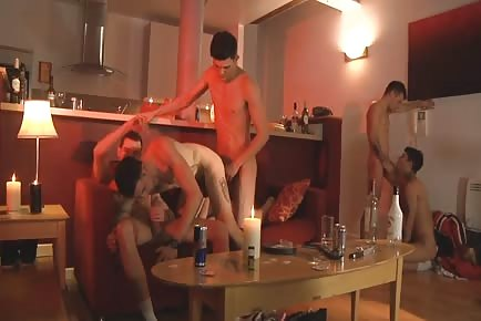 Hot boys gangbang meetup