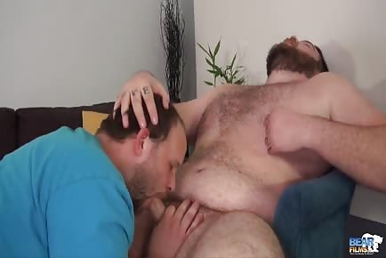 Chubs rimming and pounding asshole