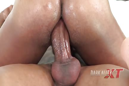 Amazing ass riding huge dick