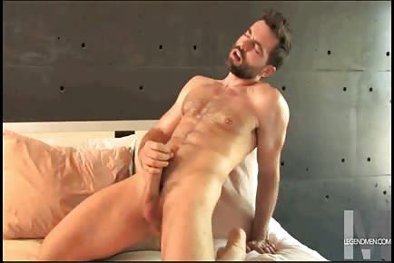 Muscular guys orgasm montage