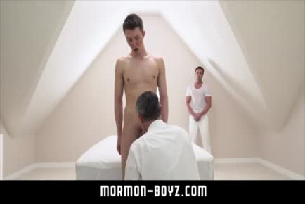Daddy sees boy with older hot man MORMON-BOYZ.COM