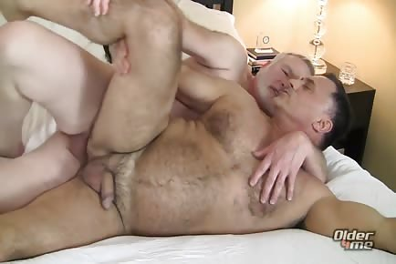 Mature men passion fucking