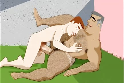Big ass cartoon dad hot gay porn