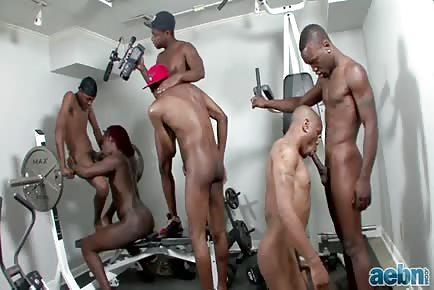 Thug Gym Orgy