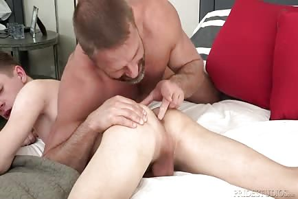 Dirk Caber daddy seduction of boy Darren Kiss