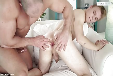 Cleaning BF Pays For His Errors With His fine Little butt! HD