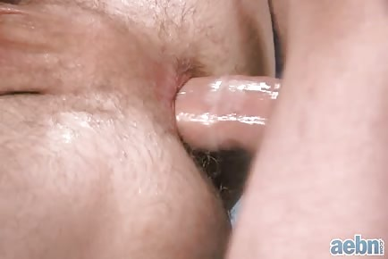 Nice asshole swallowing rod Close Up