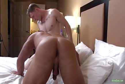 Brad's First Anal Sex EVER From Markie More raw