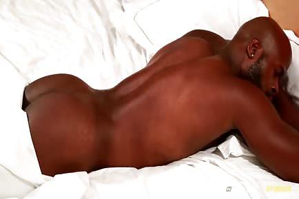 Darian Jerking Off His fat ebony schlong