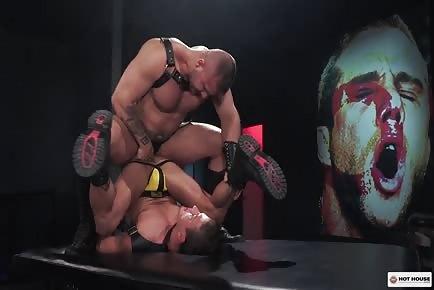 Muscular guys Hardcore booty Fuck