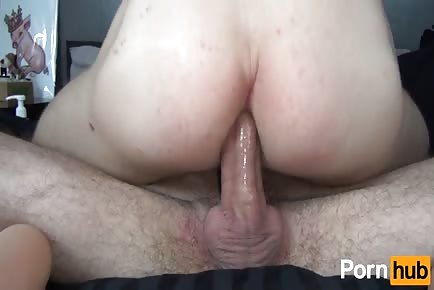 Big curved dick impaling anus bareback