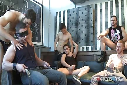 Hot Guys Group Blowjobs Initiation Experience